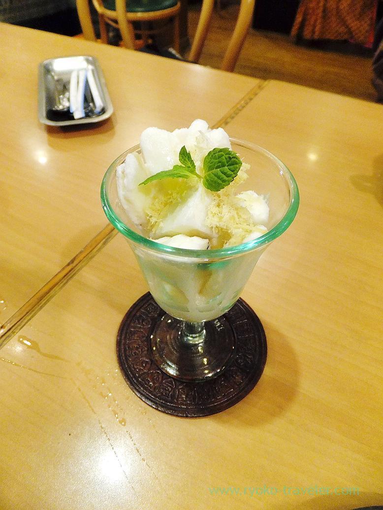 Kulfi, Curry restaurant Shiba (Inage)
