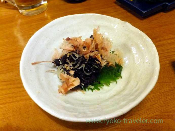 Raw seaweed, Funakko (Higashi-Funabashi)