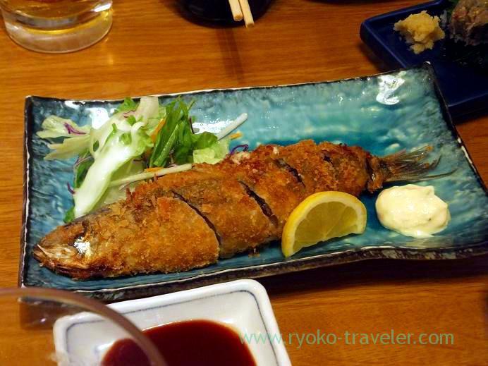 Sardine croquette, Funakko (Higashi-Funabashi)