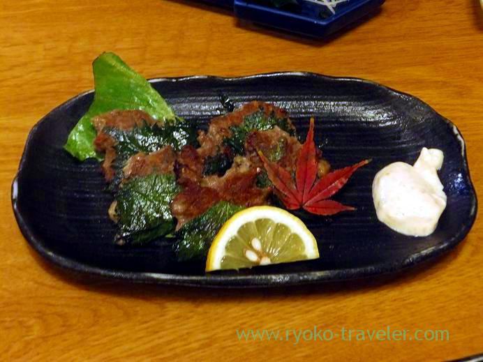 Sardine sangayaki, Funakko (Higashi-Funabashi)