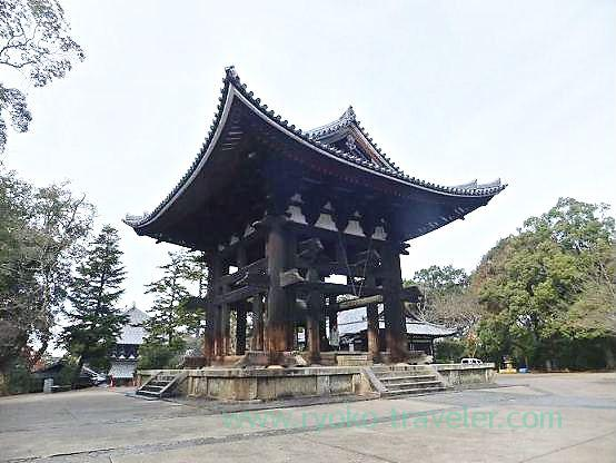 Bell tower, Todaiji temple (Nara)