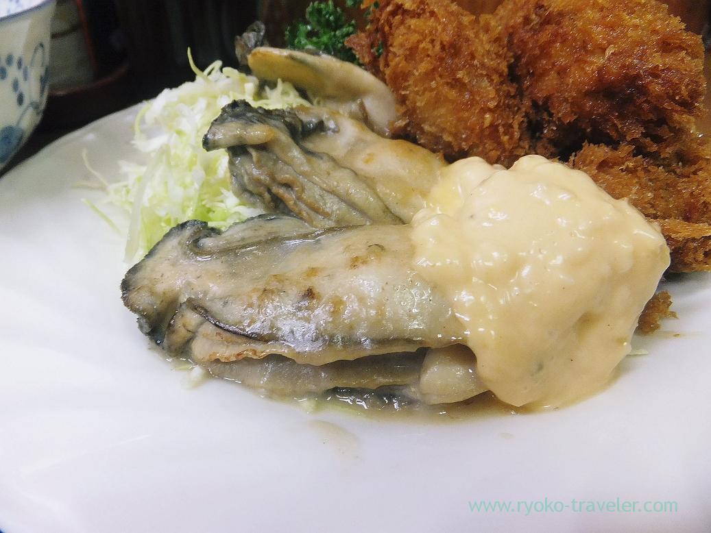Fried oyster, Odayasu (Tsukiji Market)