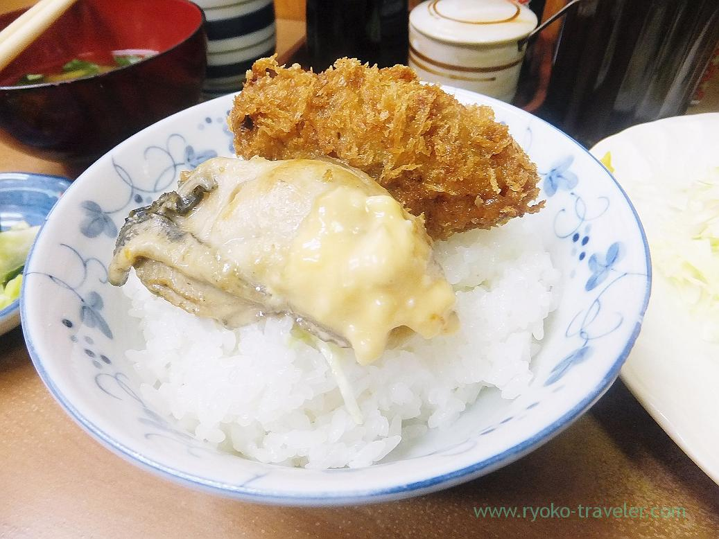 On the rice, Odayasu (Tsukiji Market)