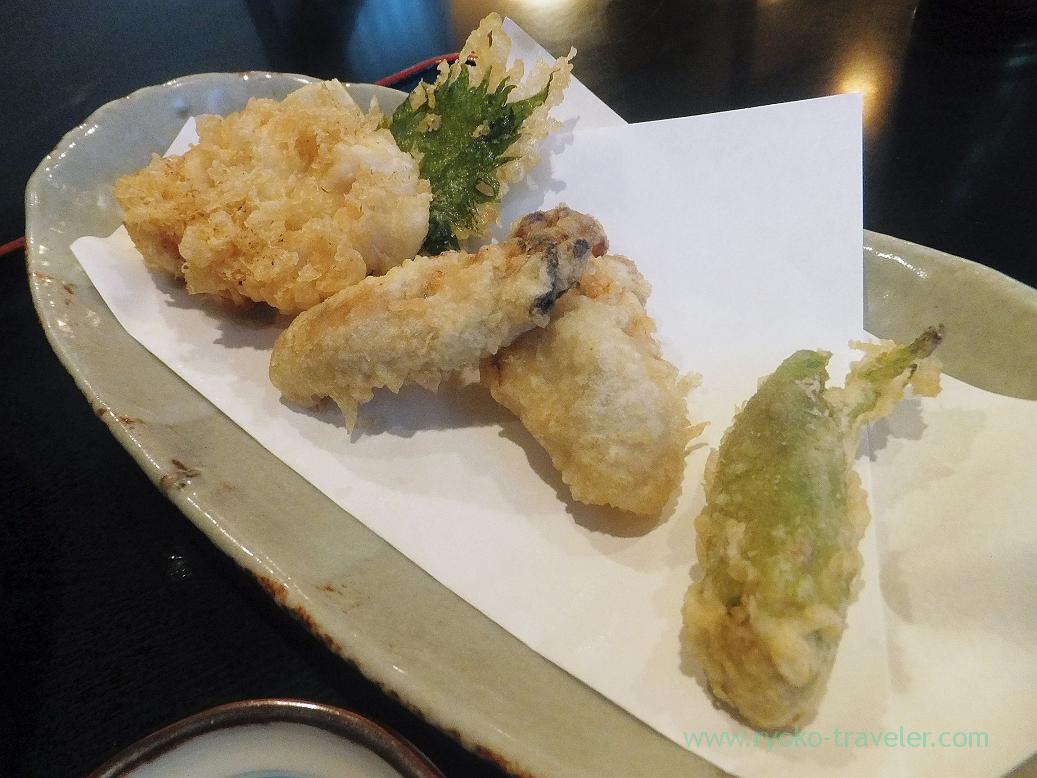 Oysters-and-soft-roe-tempura-Choseian-Tsukiji.jpg 01/13/2016 100 kB 1037 × 778 Edit Image Delete Permanently URL http://www.ryoko-traveler.com/blog/wp-content/uploads/2013/03/Oysters-and-soft-roe-tempura-Choseian-Tsukiji.jpg Title Oysters and soft roe tempura, Choseian (Tsukiji) Caption