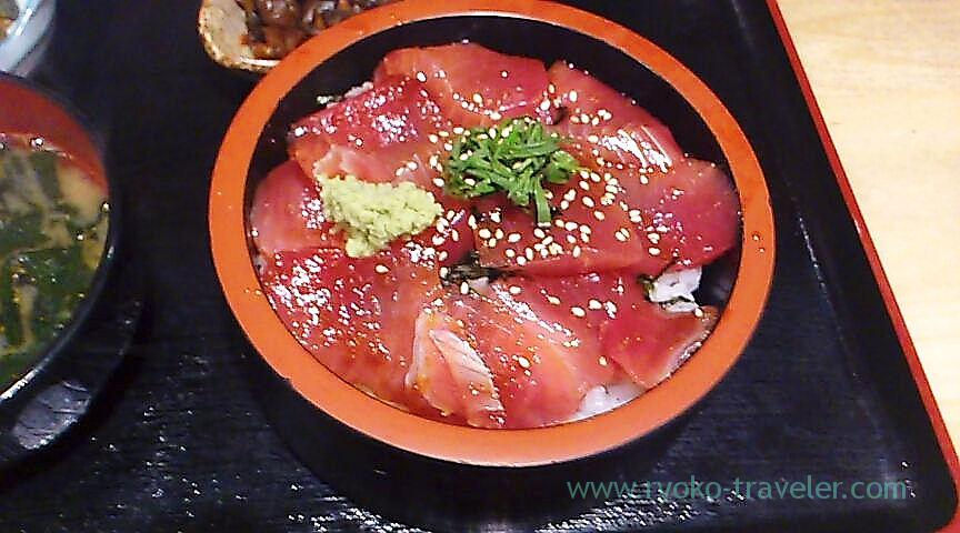 Pickled tuna bowl, Maguro-ichi (Funabashi)