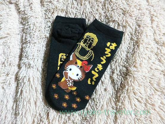 Socks of hello kitty, Todaiji temple (Nara)