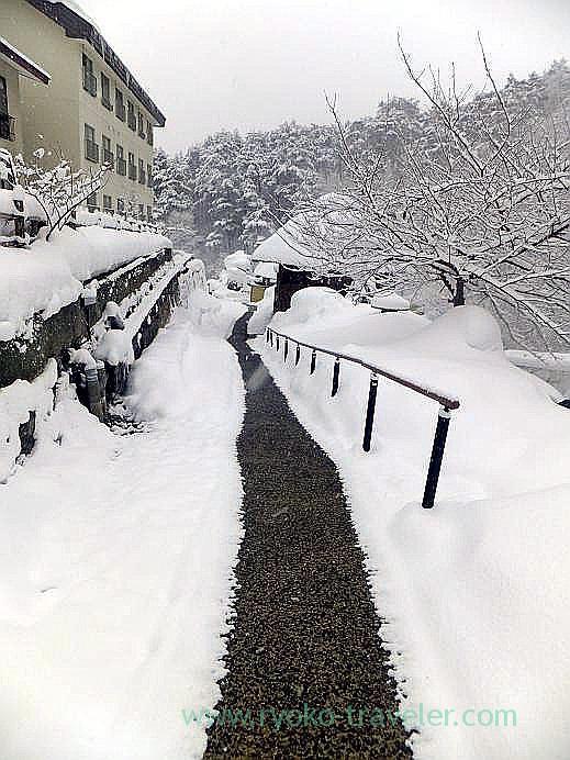 White only, Takayu onsen (Tamagoyu 2013)