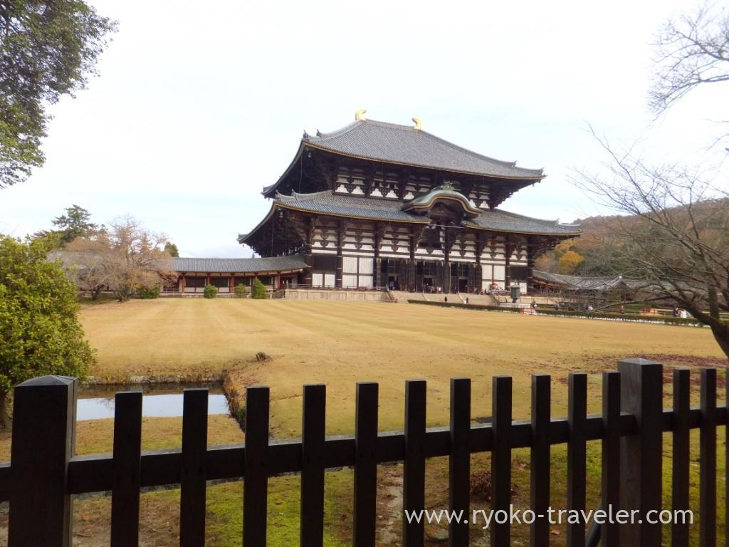 Worship hall1, Todaiji temple (Nara)