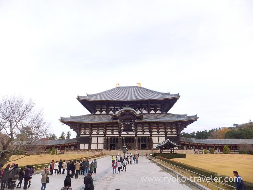 Worship hall2, Todaiji temple (Nara)