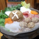 Akabane : Chickens hot-pot at Kawaei