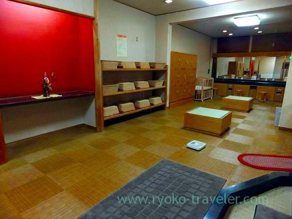 Dressing room, Matsukawaya (Nasu Shiobara)
