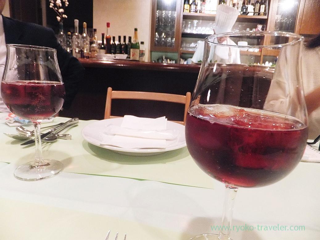 Grape juice, one kind of cherry blossom, Persil (Higashi-Ginza)