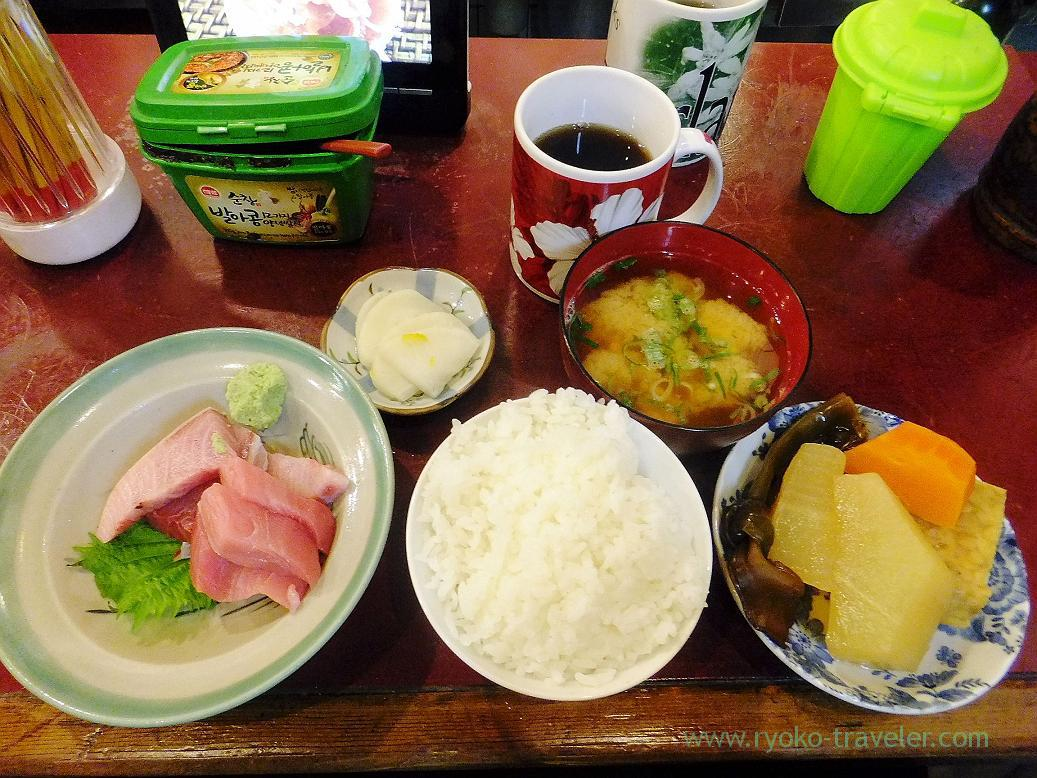 Chef's choice set, Yonehana(Tsukiji Market)