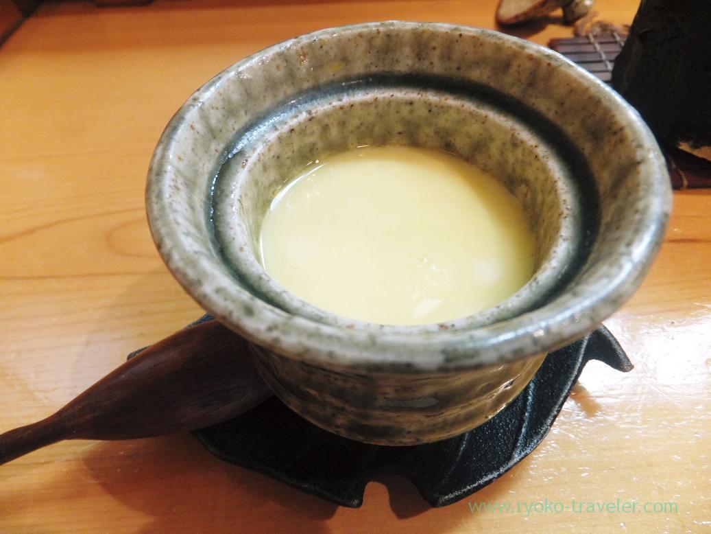 Salted entrails of trepang chawanmushi, Miyakozushi (Bakuro-Yokoyama)