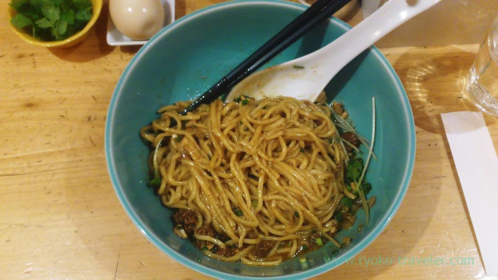 Seiso dandan noodles, Rashohan (Ogawacho)