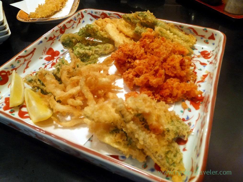 Spring taste tempura, Choseian (Tsukiji)