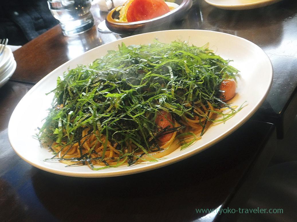 Wafu-spaghetti, Four season (Tsukiji)
