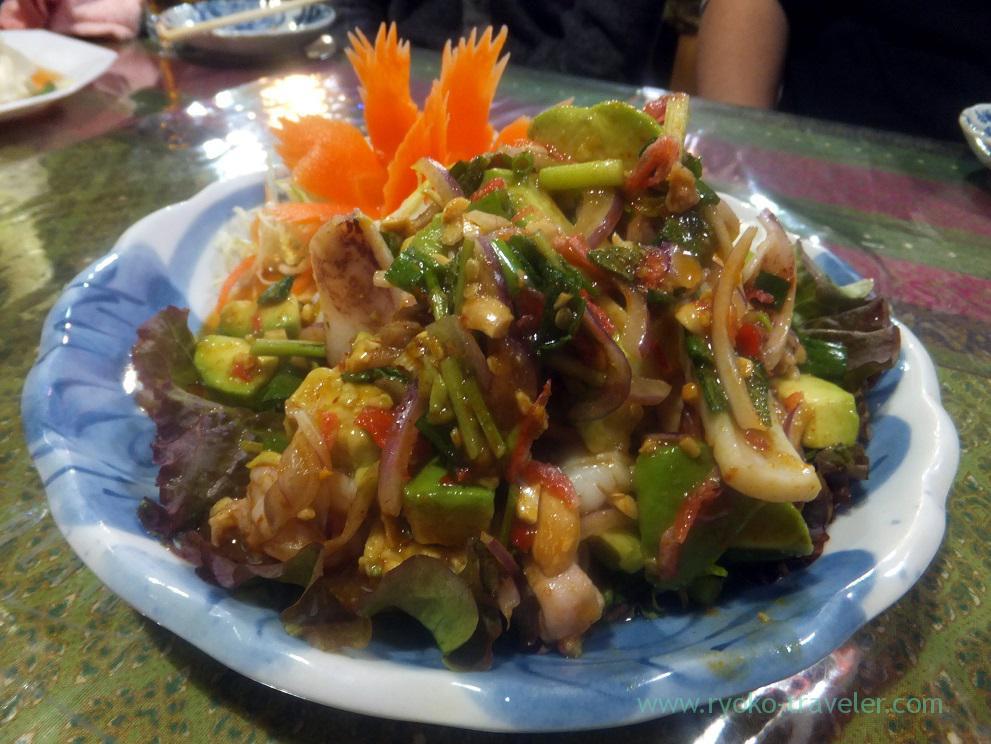 Avocado salads, Inakamura (Koiwa)