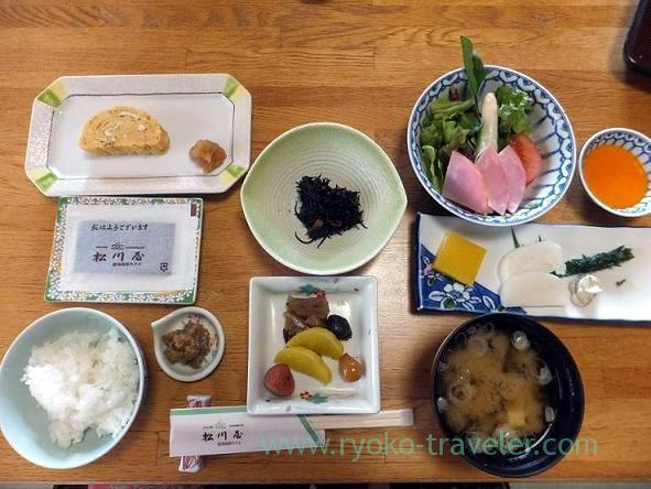 Breakfast, Matsukawaya (Nasu kogen)