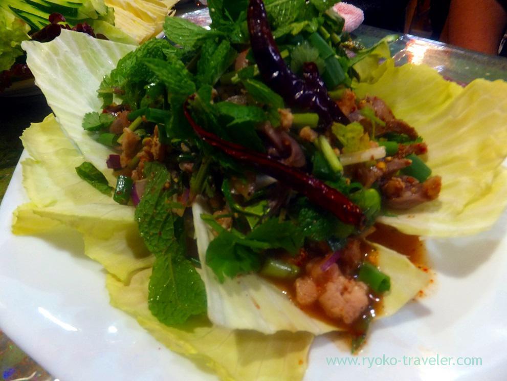 Chickens herb salads, Inakamura
