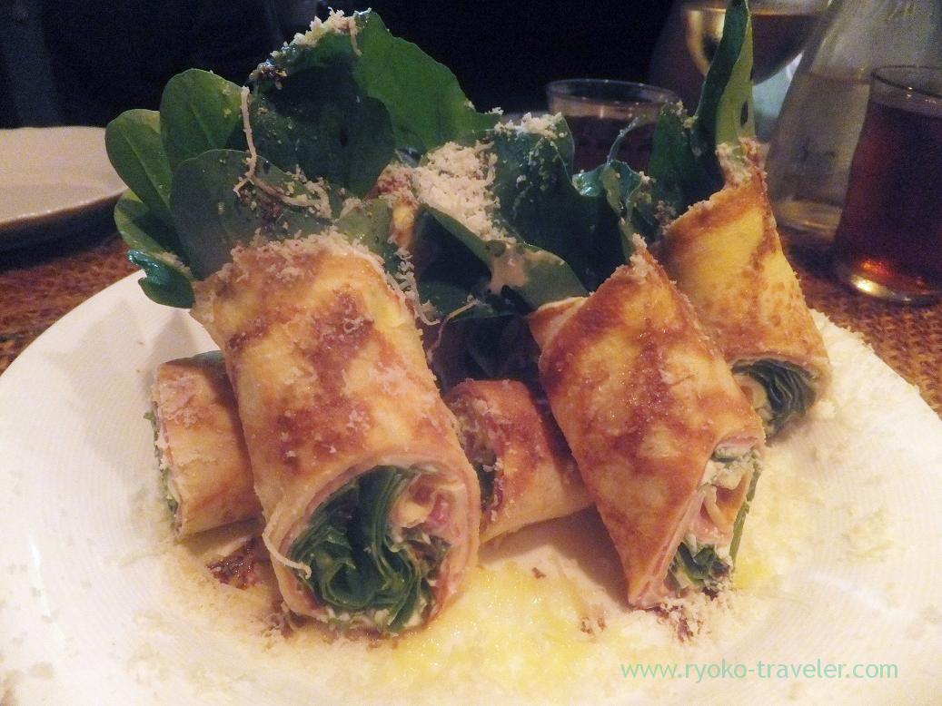 Crepe rolls with uncured ham, Yamagishi Shokudou