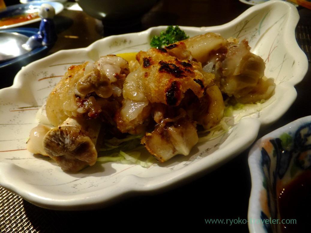 Grilled salted pig's feet, Yamasho Ningyocho branch (Ningyocho)