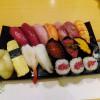 Ginza : 1260 yen sushi set at Sushi Itsuki (鮨いつき)