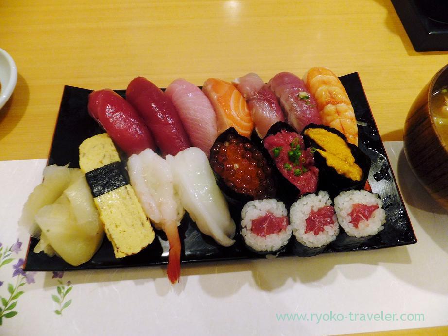 Jo-Nigiri, Sushi Itsuki (Ginza)