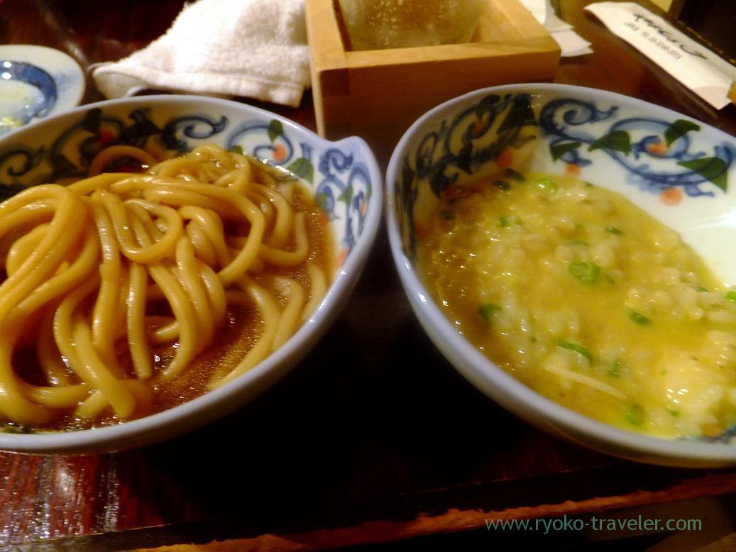 Meal, Yamasho Ningyocho branch (Ningyocho)