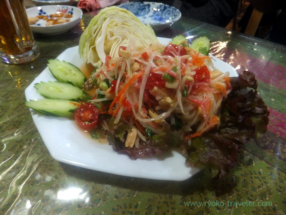 Papaya salads, Inakamura (Koiwa)