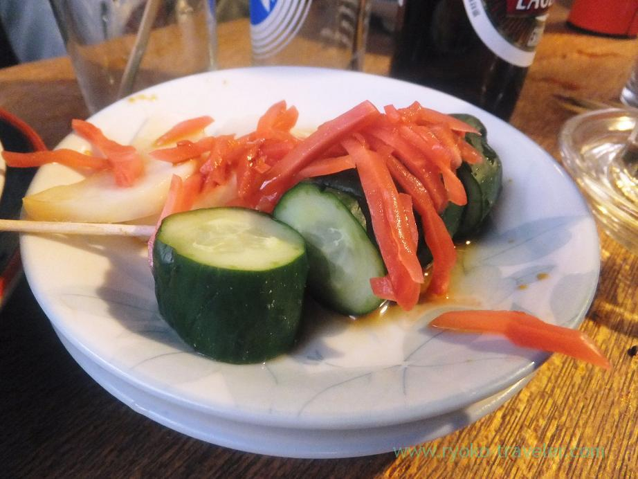 Pickled vegetables, Uchida (Keisei-Tateishi)