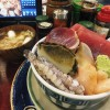 Tsukiji Market : Great sashimi bowl at Yonehana
