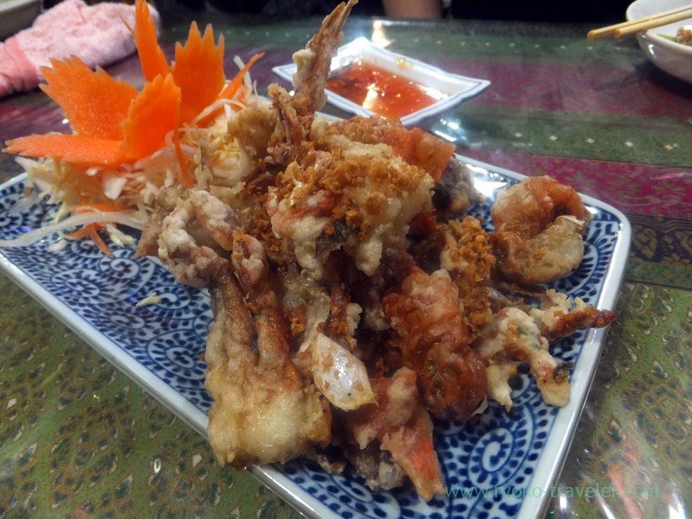 Soft-shell crab karaage, Inakamura (Koiwa)