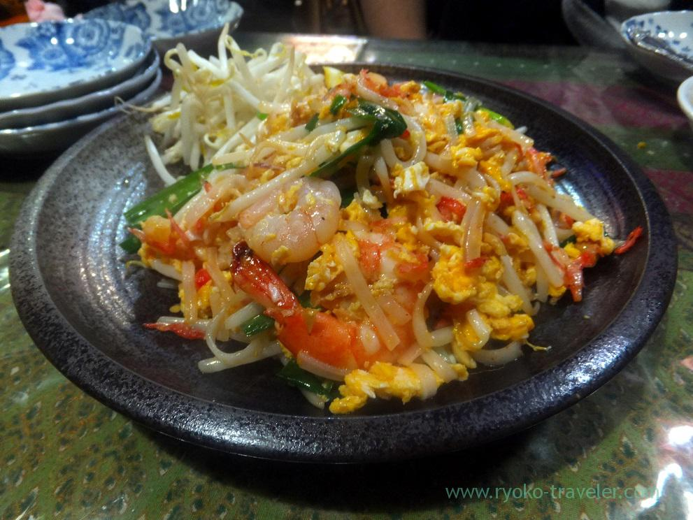 Thai-style fried noodle, Inakamura (Koiwa)