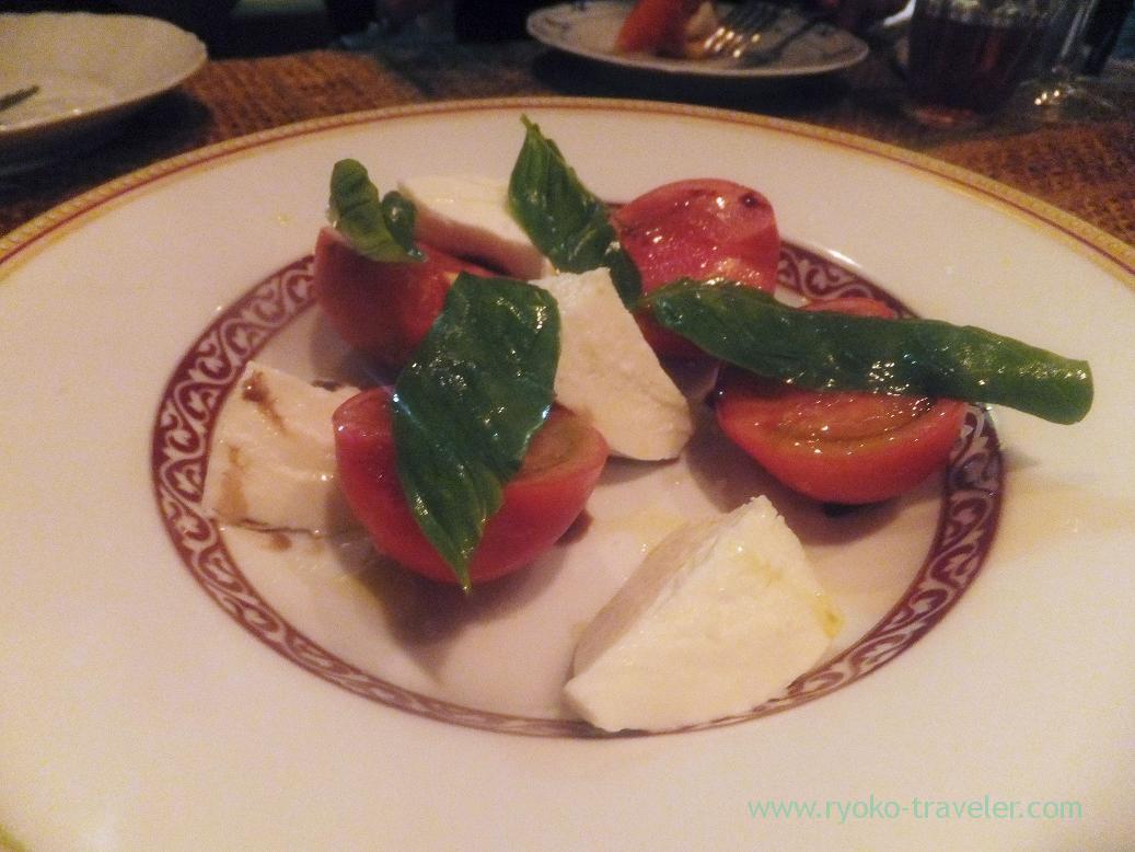 Tomato and mozzarella, Yamagisi Shokudou