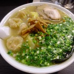 Memorable taste – Wonton noodles (Yotsuya)