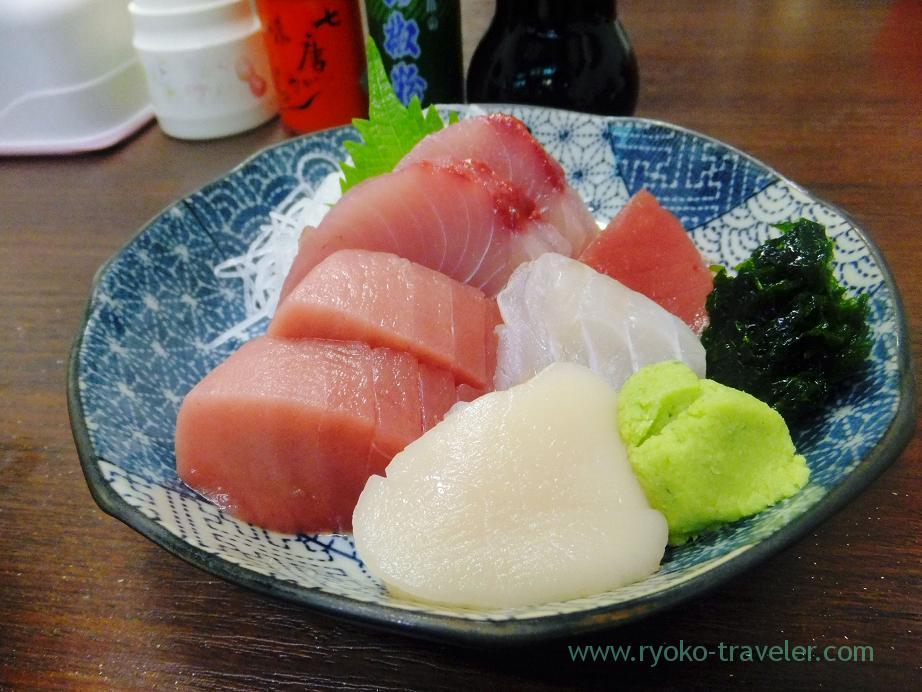 Assorted sashimi, Takahashi (Tsukiji Market)