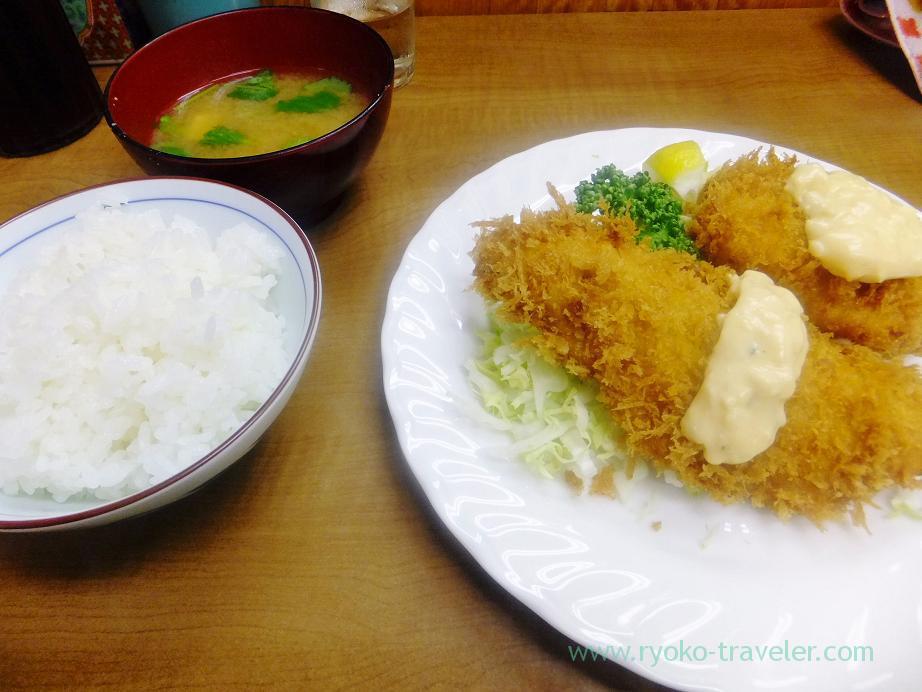 Fry set, Odayasu (Tsukiji Market)