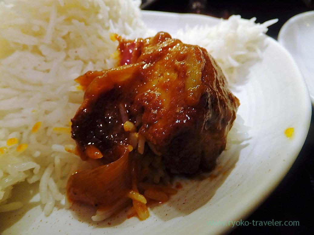 Pork bindaloo, Spice bar Nico (Kiyosumi-Shirakawa)