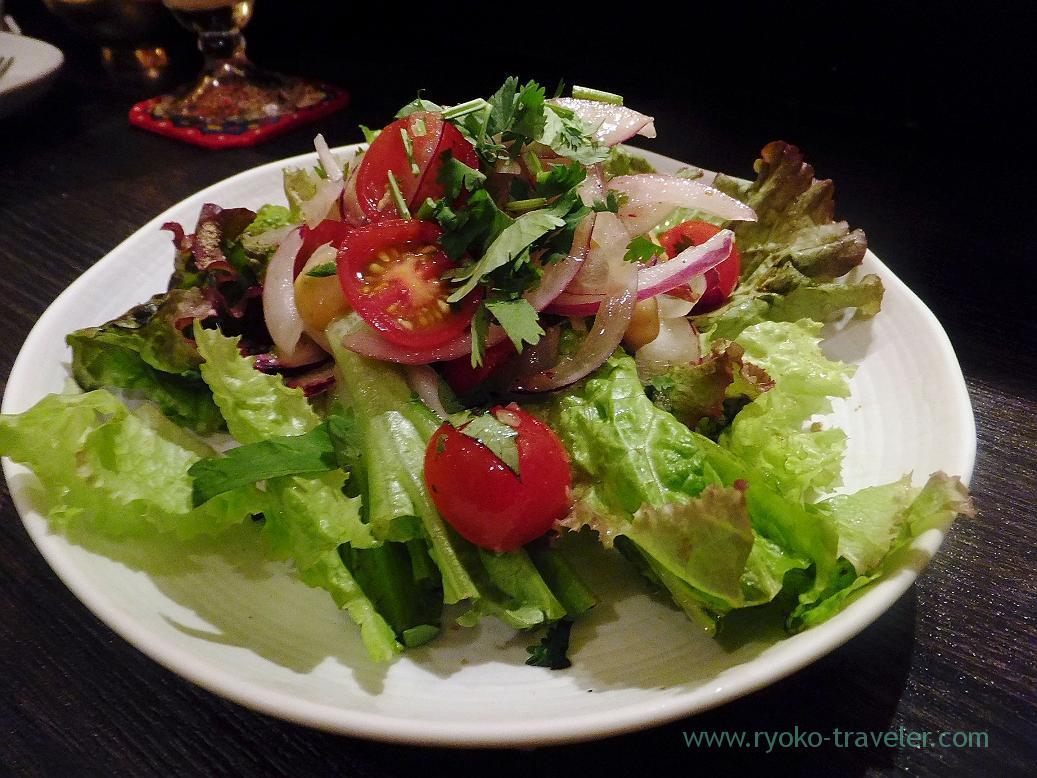 Salads, Spice bar Nico (Kiyosumi-Shirakawa)