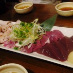 Koiwa : Pork innards at Butagoya