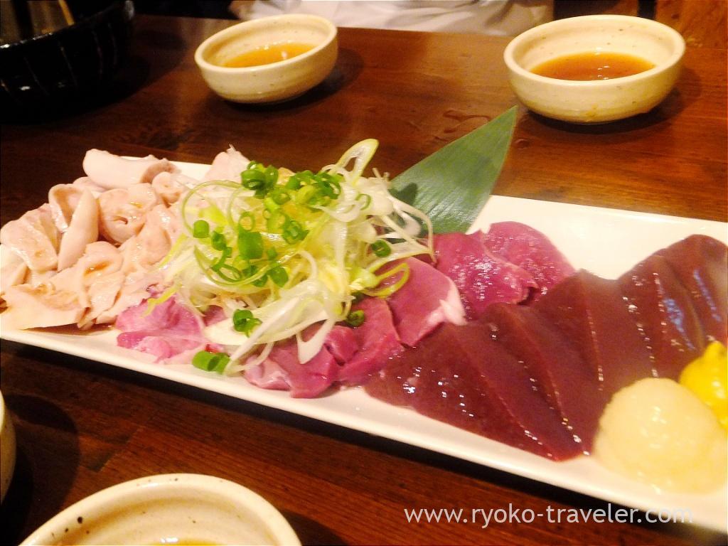 Sashimi, Butagoya (Koiwa)