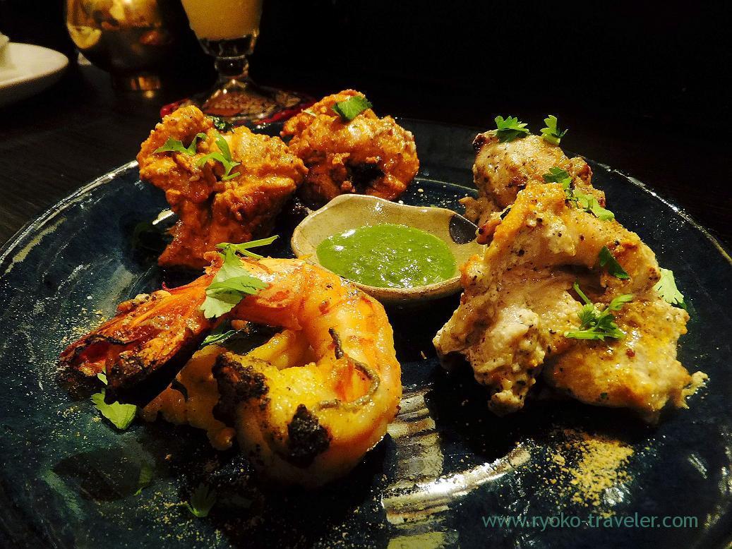 Tandoori chicken, Spice bar Nico (Kiyosumi-Shirakawa)