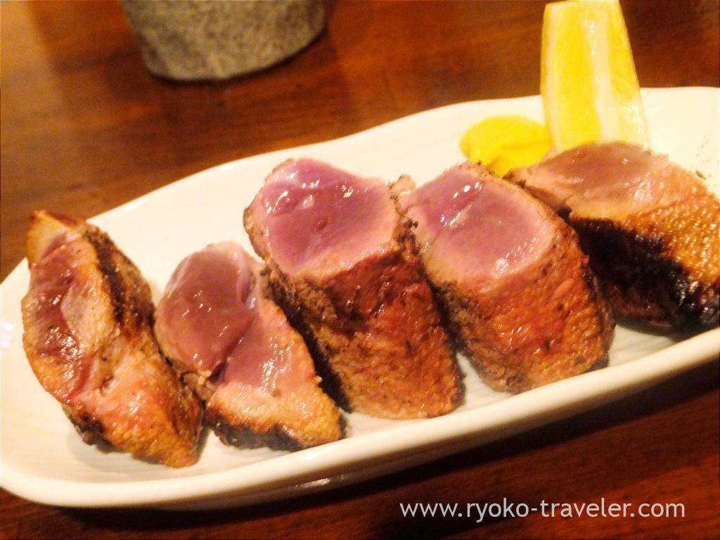 Yakiton - Pig's liver , Butagoya (Koiwa)