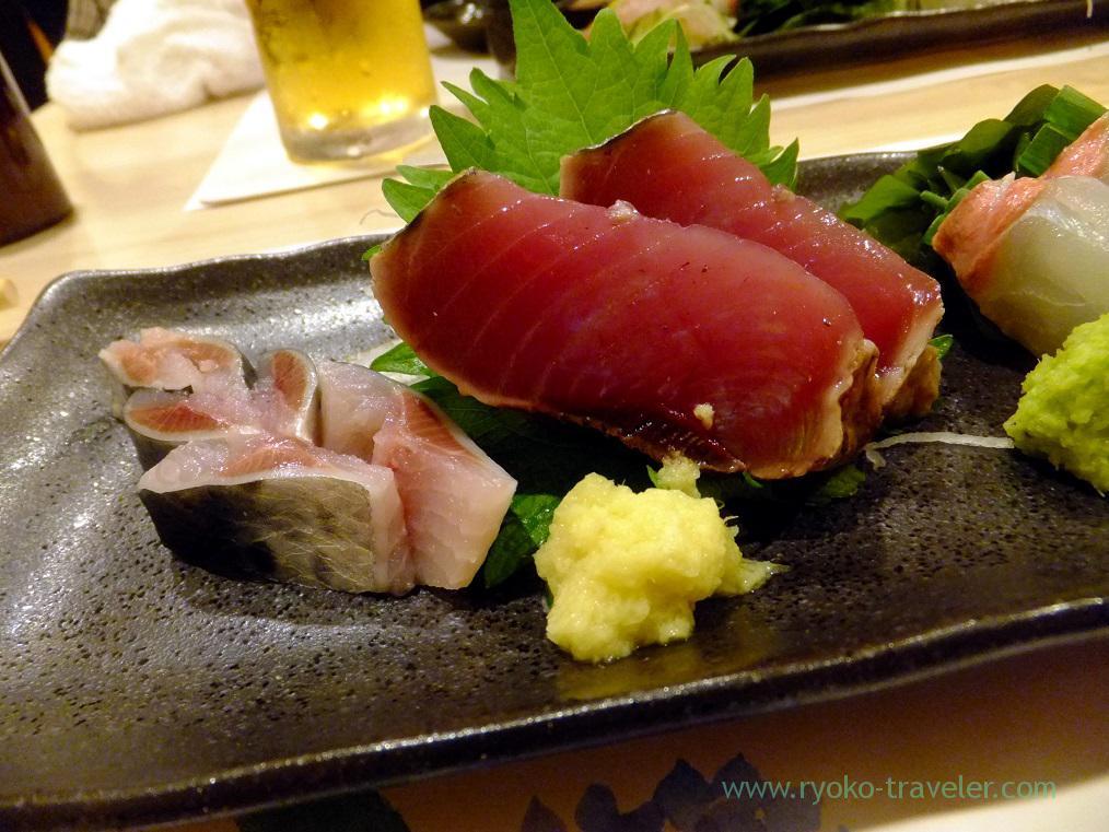 Bonito and sardine, Tsukiji Yoshino Kichiya(Tsukiji Outer Market)