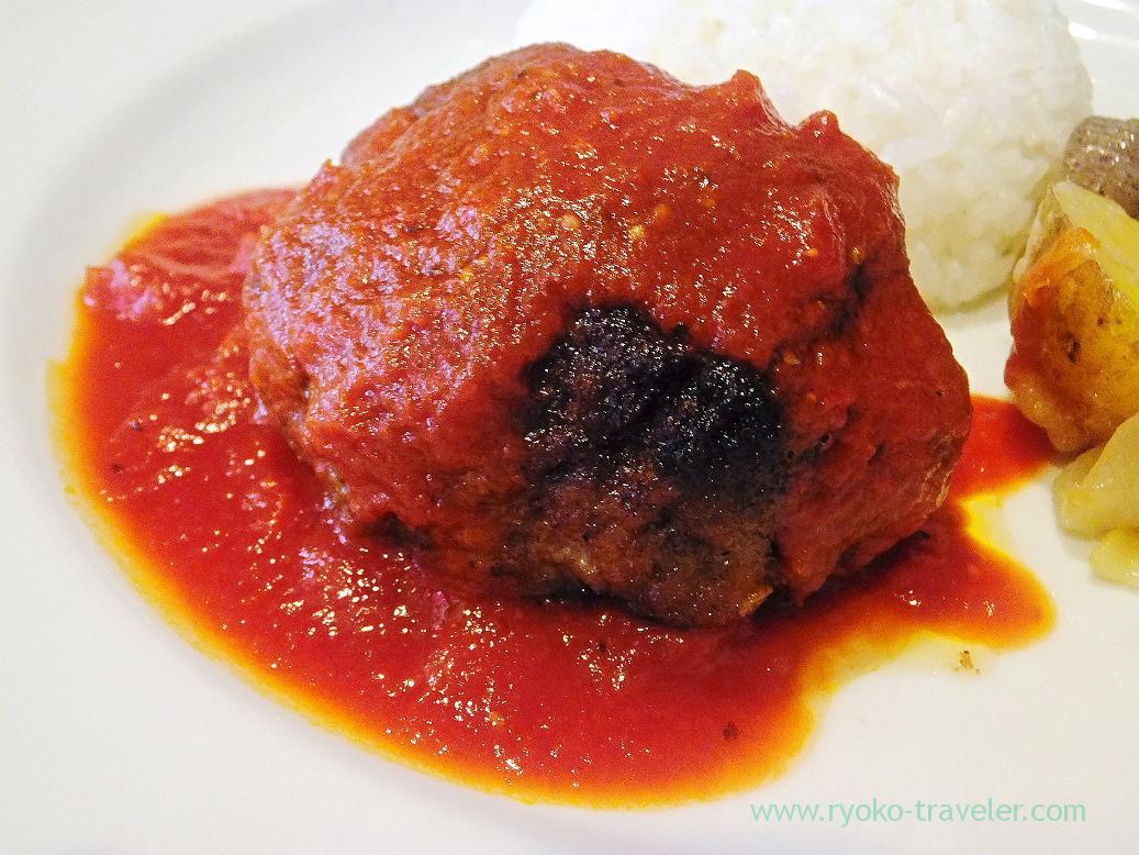 Closer hamburger steak, Persil (Higashi-Ginza)