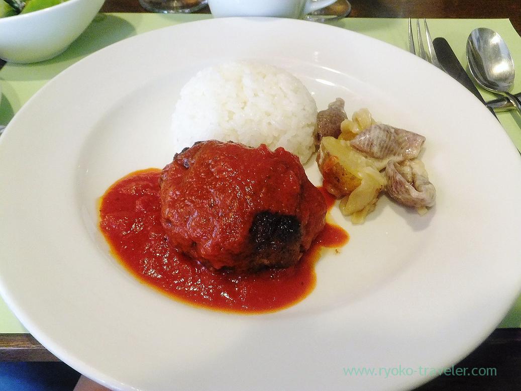 Hamburger steak, Persil (Higashi-Ginza)