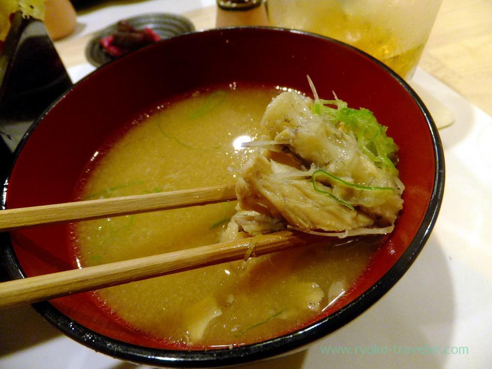 Miso soup, Tsukiji Yoshino Kichiya(Tsukiji Outer Market)