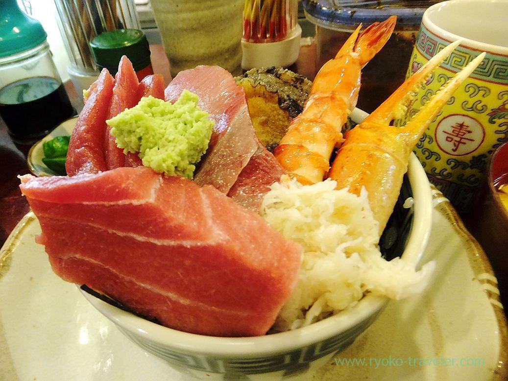 Seafood bowl, Yonehana (Tsukiji Market)