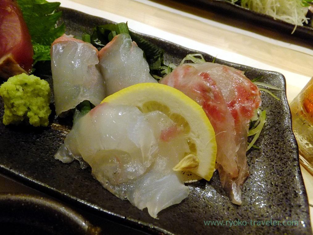 grunt, flathead and flatfish, Tsukiji Yoshino Kichiya (Tsukiji Outer Market)